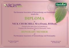 Diploma Nick Churchill